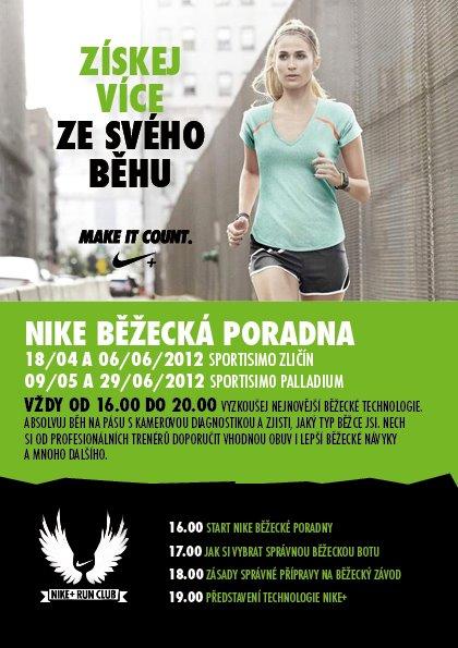 Nike běžecká poradna