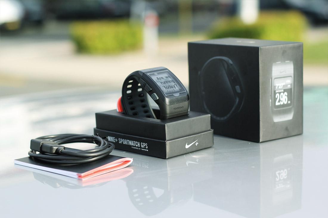 Nike+ SportWatch - obsah balení